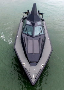Barracuda stealth boat