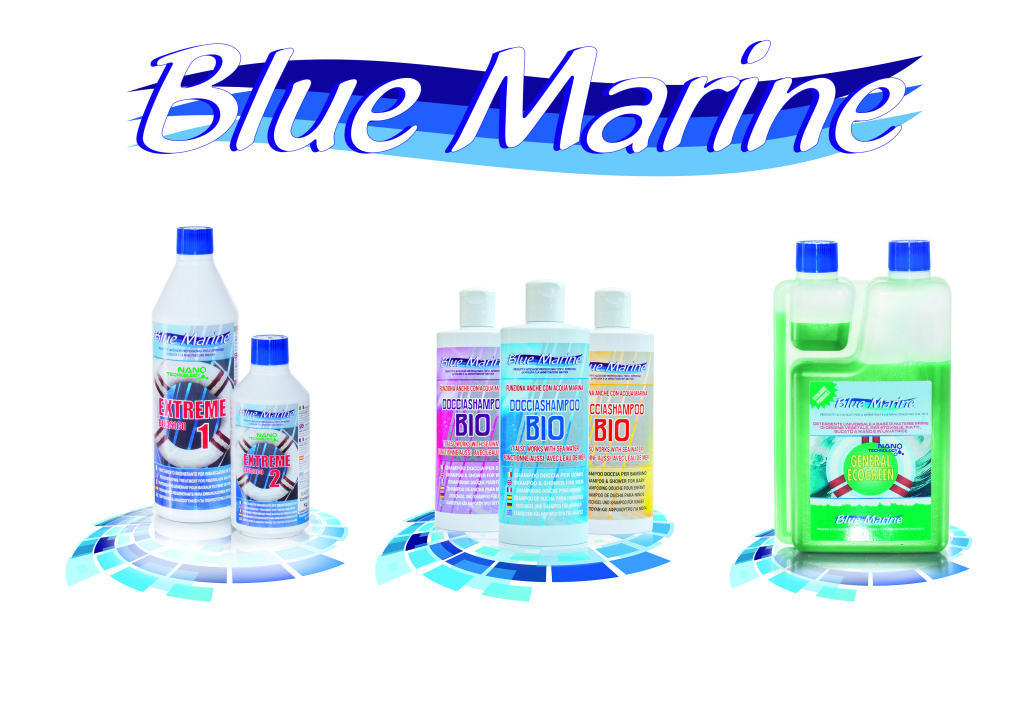 Blue Marine cleaning products